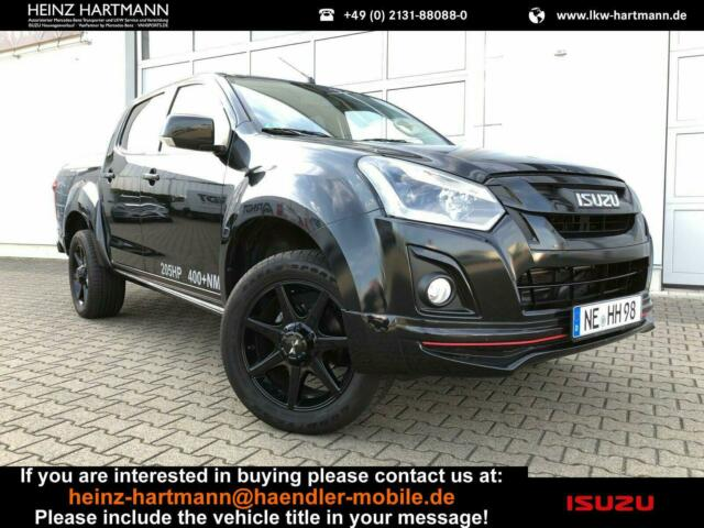 ISUZU D-Max Double Cab Custom Black Jack Cover Bild